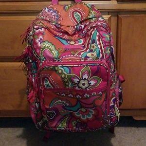 Extra large Vera Bradley backpack.